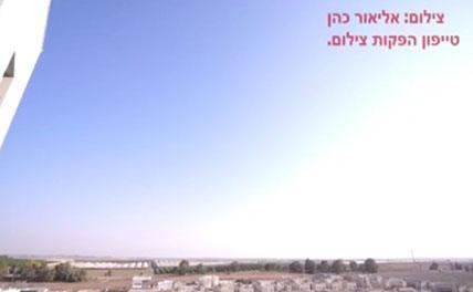 ПВО Израиля перехватило десятки ракет Сектора Газа. Видео