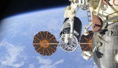 Американский грузовой космический корабль прибыл на МКС