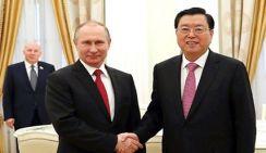 Состоялась встреча Чжан Дэцзяна и Владимира Путина
