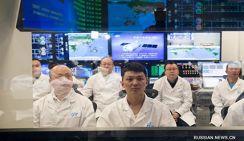 Китайский грузовой космический корабль завершил дозаправку на орбите