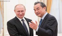Президент России В.Путин встретился с Ван И