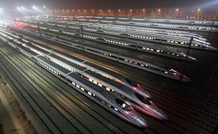 В Китае построят сверскоростную железную дорогу