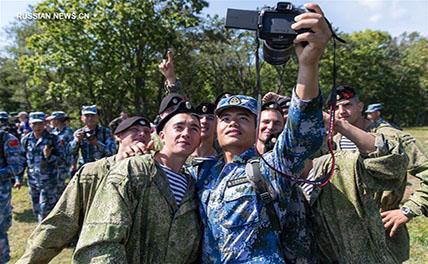 Морские пехотинцы Китая и России провели совместное антитеррористическое состязание