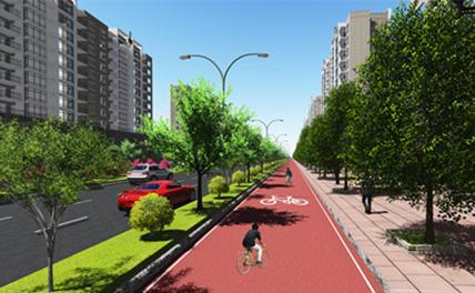 В Пекине строится скоростная велосипедная дорожка
