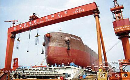 Китай лидирует в мире по сумме заказов в судостроении