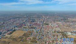 Новый район Сюнъань с высоты птичьего полета
