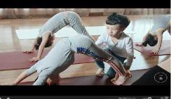 Самый молодой инструктор йоги в Китае
