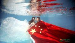 Свадебные фотографии китайского военнослужащего