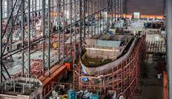 В Китае началось строительство первоклассного спасательного суднаf