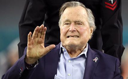 Экс-президент США Джордж Буш-старший скончался