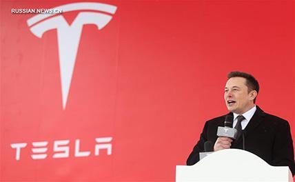 Tesla закладывает фундамент суперзавода в Шанхае