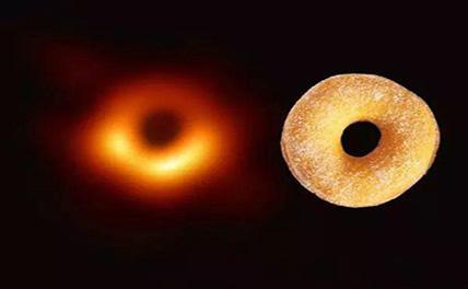 Первая фотография черной дыры вызвала бурную реакцию у интернет-пользователей