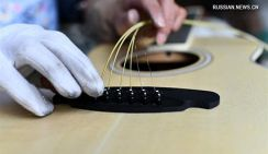 Гитары из уезда Чжэнъань провинции Гуйчжоу
