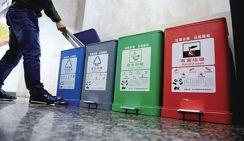 Во многих городах Китая ввели законы о сортировке отходов