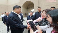 Си Цзиньпин призвал сохранять Великую китайскую стену в качестве символа китайской нации