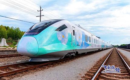 В городе Хайкоу Китая запустили красивые электрички