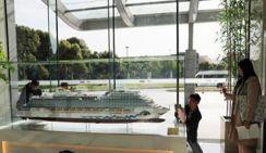 Началось строительство первого китайского круизного лайнера