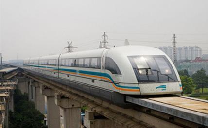 Первый поезд на магнитной подушке с технологией 5G испытал сеть в Шанхае