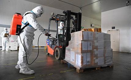 Китай продезинфицировал более 30 тыс. тонн груза в портах страны