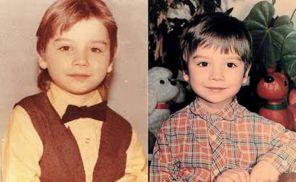 На фото: Сергей Лазарев в детстве