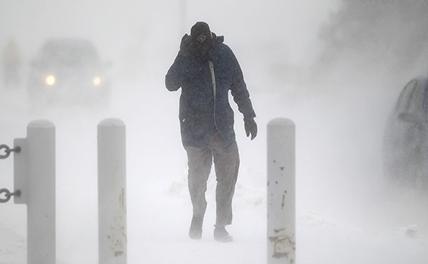 Снежный апокалипсис продолжается