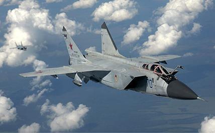 МИГ-31 потерпел крушение в Нижегородской области