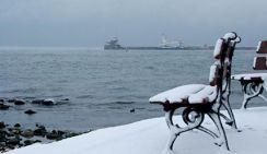 В Крым идут Крещенские морозы