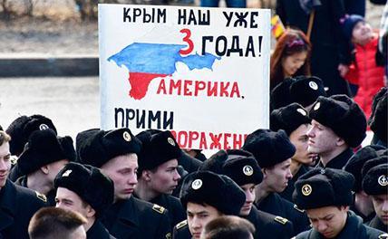 Украина обещает: голодная Россия сама вернет Крым