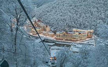 В Сочи горнолыжные курорты загружены уже на 90%